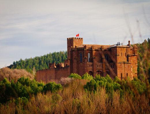 Viajes y escapadas a la natural, escapadas rurales de fin de semana y otras actividades de turismo rural en la zona media de Navarra como el castillo de Javier