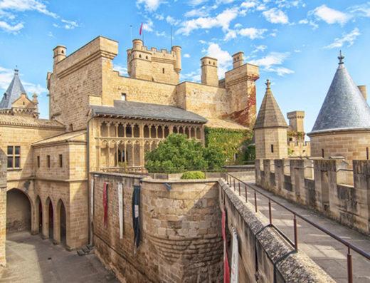Viajes y escapadas a la natural, escapadas rurales de fin de semana y otras actividades de turismo rural en la zona media de Navarra como la visita al palacio real de Olite