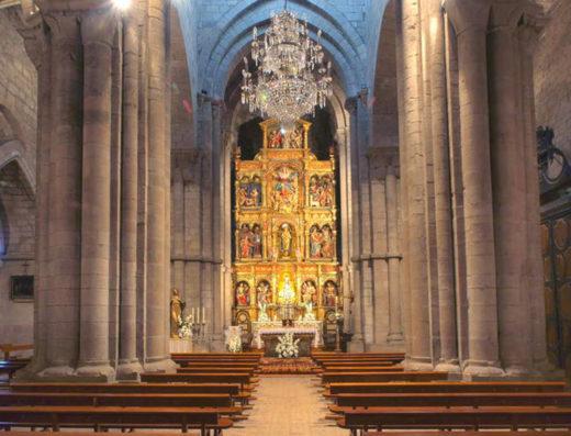 Viajes y escapadas a la natural, escapadas rurales de fin de semana y otras actividades de turismo rural en la iglesia de Santa María la real de Sangüesa