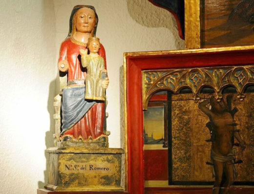 Viajes y escapadas a la natural, escapadas rurales de fin de semana y otras actividades de turismo rural en la ribera de Navarra como la visita a la Basílica de nuestra señora del Romero de Cascante.