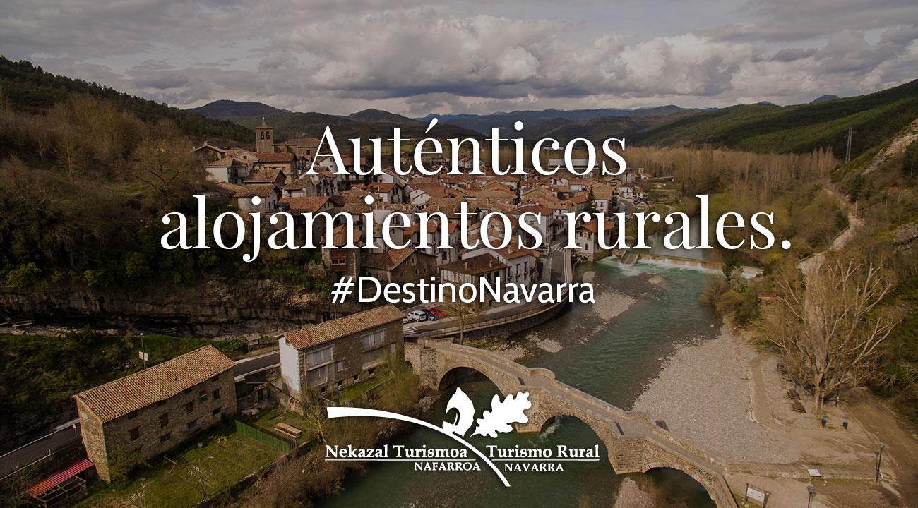 Los alojamientos rurales con más encanto de España están en Navarra. Casas Rurales, hoteles y apartamentos rurales, campings y escapadas de fin de semana y vacaciones de verano