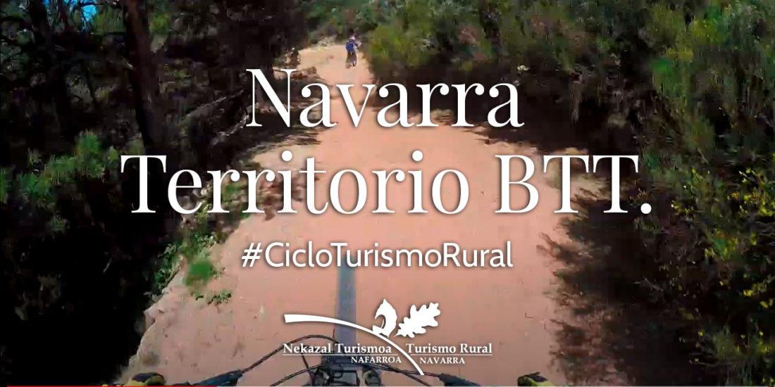 Navarra es territorio BTT con infinidad de circuitos para Montan Bike destino perfecto para practicas el ciclo turismo rural de todo el norte de España.