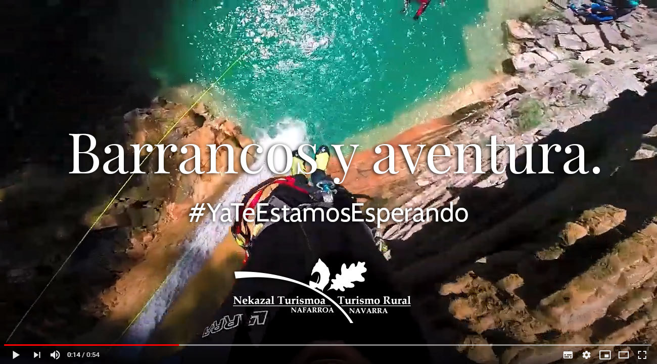 turismo rural activo acctividades deportivas barranquismo btt descenso de cañones rios y barrancos rafting las mejores pozas y parajes naturales de montaña espana navarra pirineo aragones catalan y navarro
