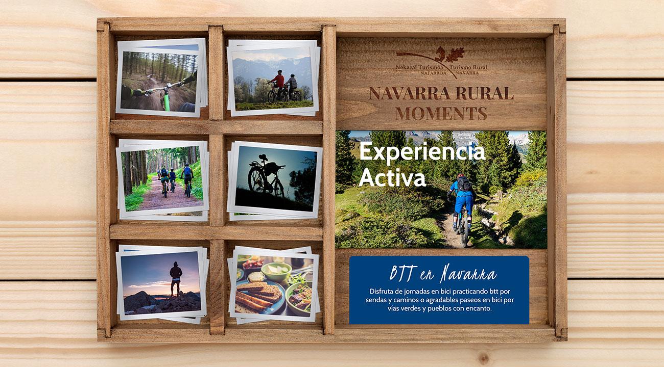 deporte btt mountainbike por navarra regala viajes y experiencias de navarra con las rural box wonder caja regalo