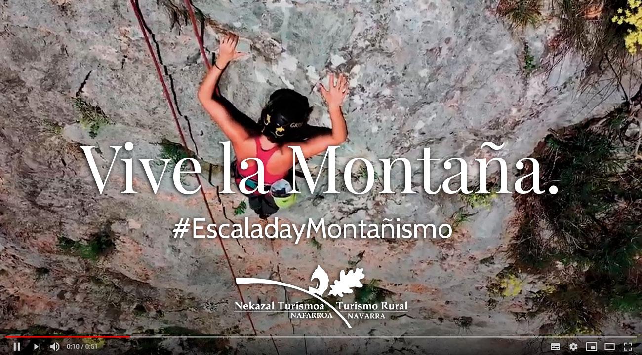 El mejor destino para practicar escalada montañismo rapel rafting y tirolinas y deportes extremos en navarra en el norte de España