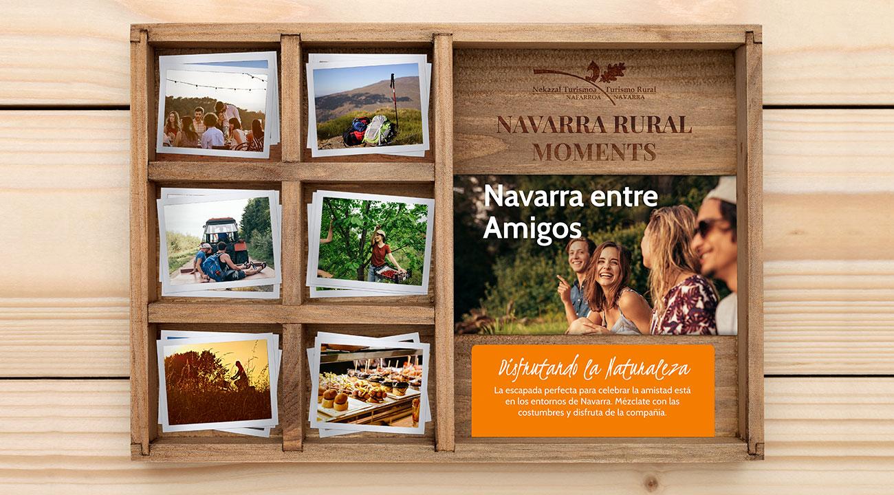 Viajes con amigos o familia en alquiler de casas rurales y alojamientos rurales para grupos en el norte de españa en Navarra wonder box caja regalo experiencias rurales