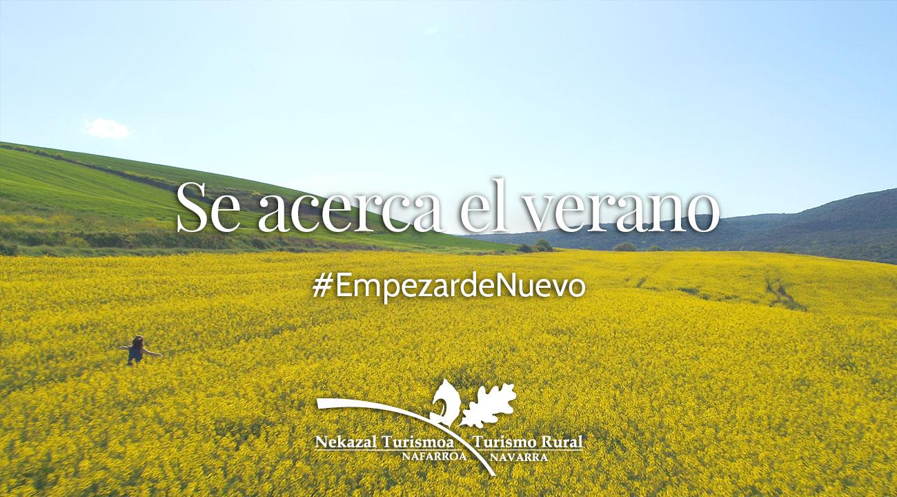 Turismo rural de Navarra en verano visitas a pueblos con alojamiento rurales con encanto, actividades aventuras y excursiones en el norte de España